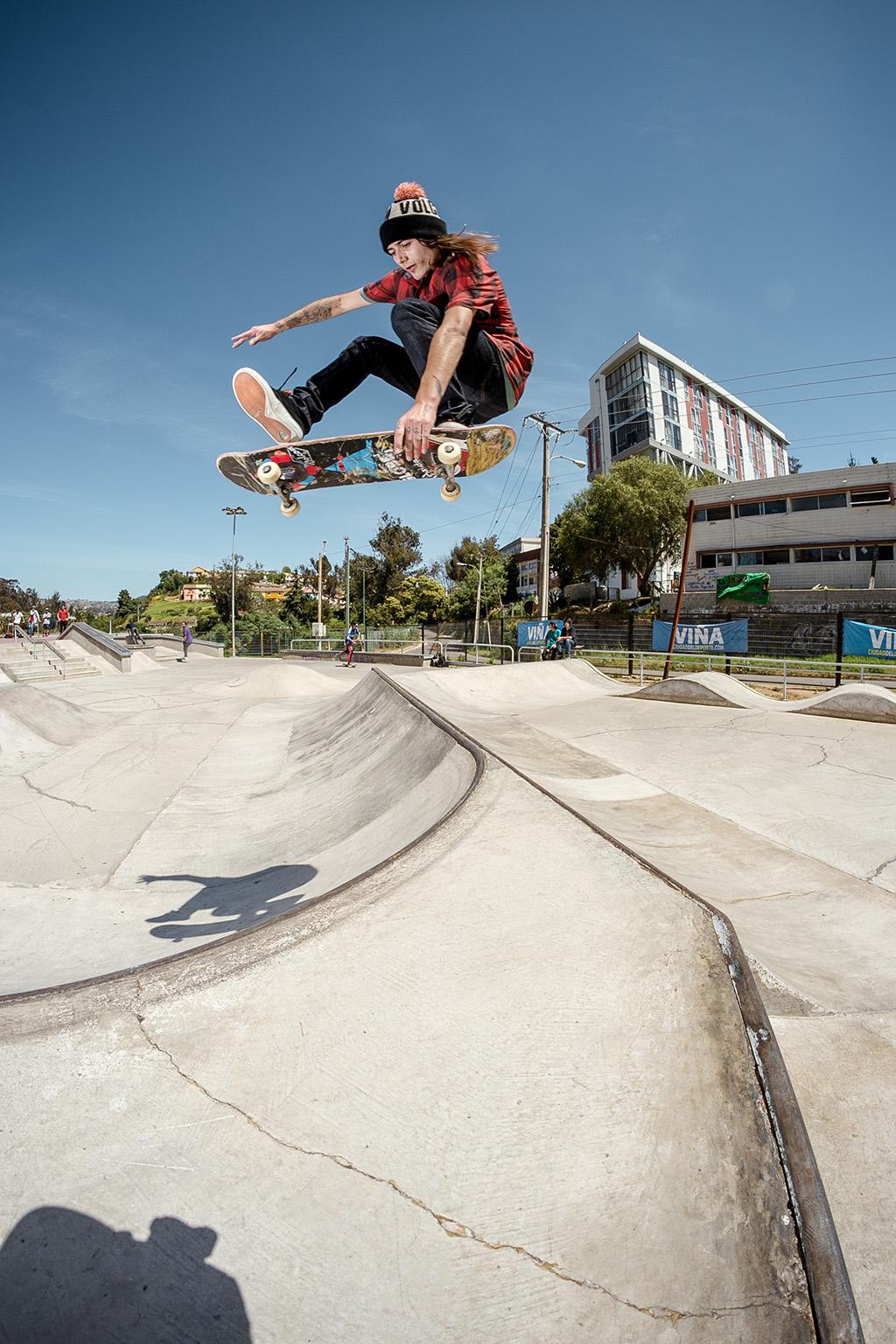 ENCONCRETO/ Skateparks de Chile / GLOBE, CAP04 Viña del Mar
