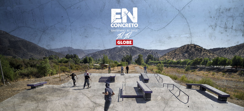 "ENCONCRETO / GLOBE, Skateparks de Chile ""Til Til"""