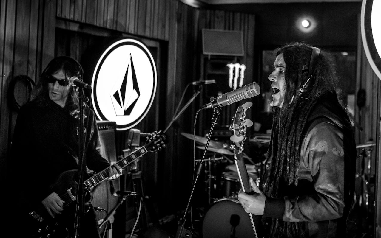 El rock pesado volvió a demostrar su vigencia con todo el poder de Yajaira en la quinta fecha de Volcom Live Sessions en Santiago